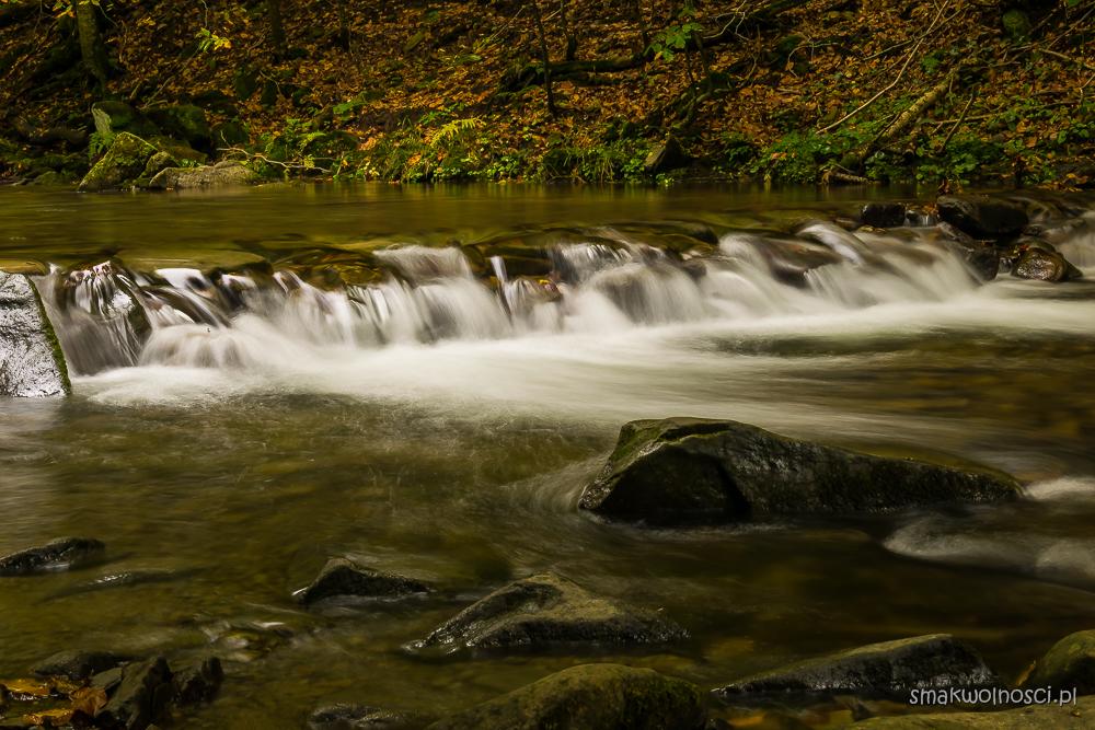 wodospad szepit na potoku Hylatym