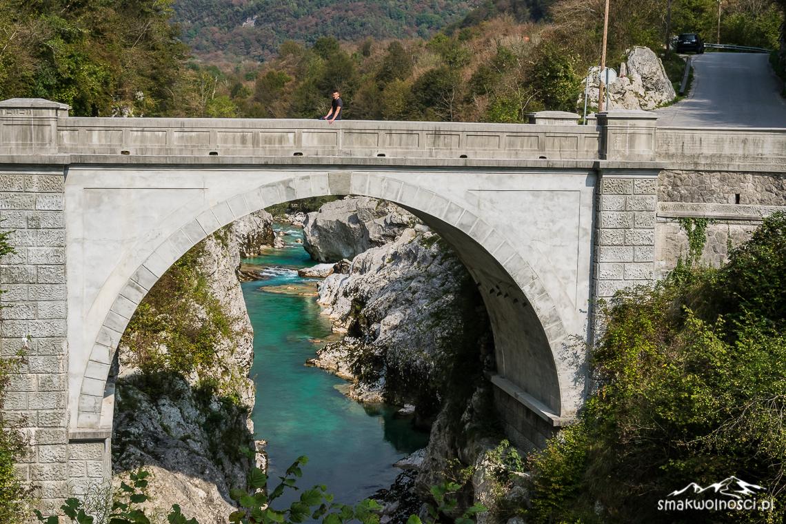 rzeka Socza most napoleona