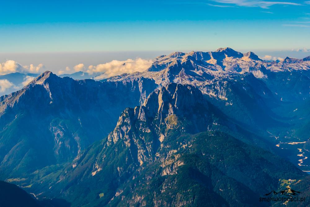 Mangart widok ze szczytu
