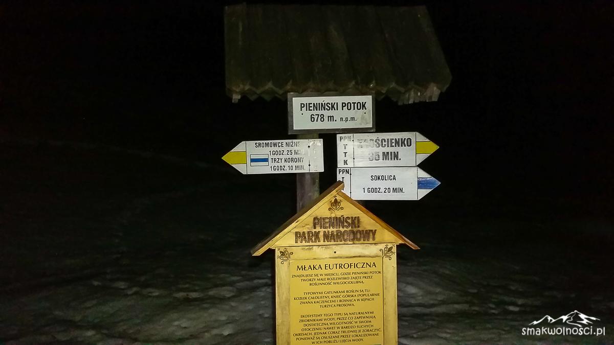 na szlaku w Pieninach