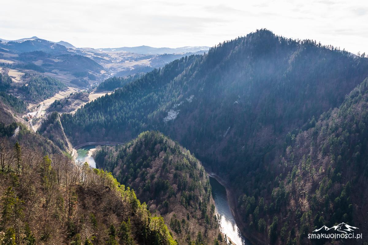 przełom Dunajca z Sokolicy