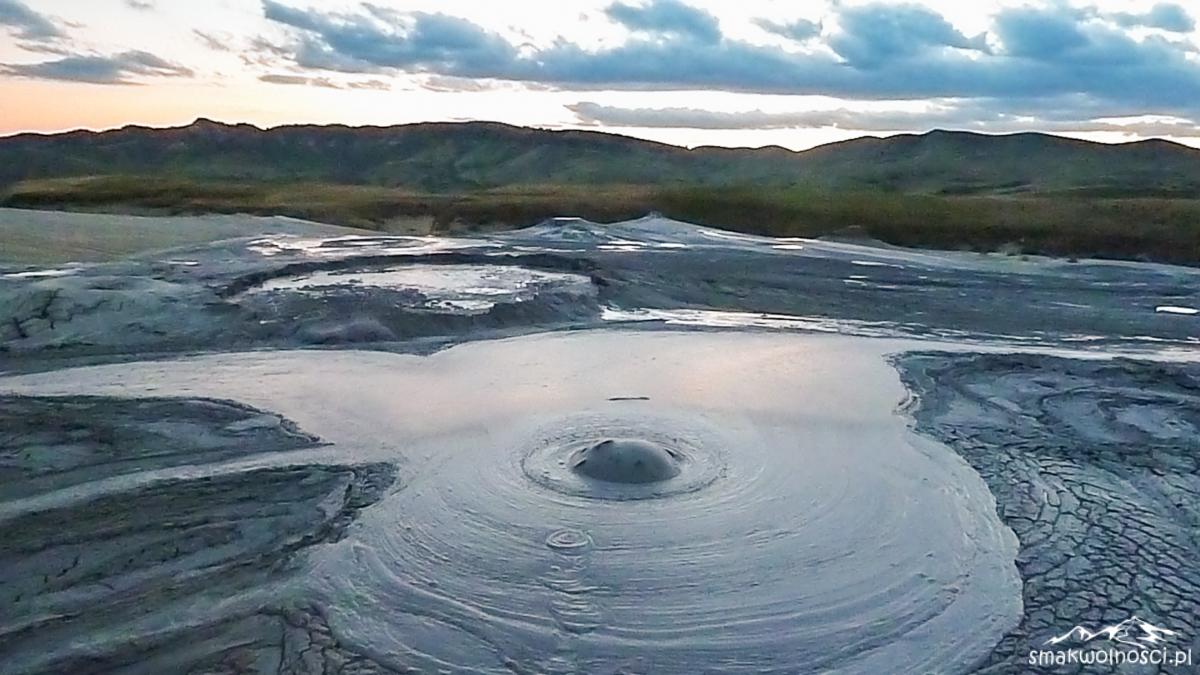 wulkany błotne w Rumunii