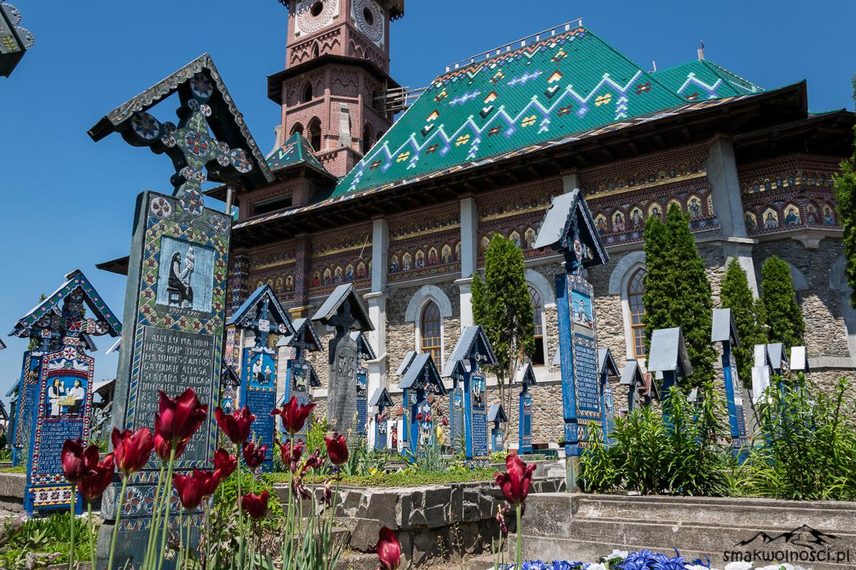 wesoły cmentarz w Sapanta