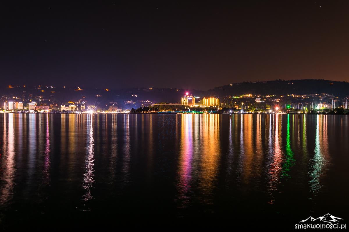 portoroz nocą