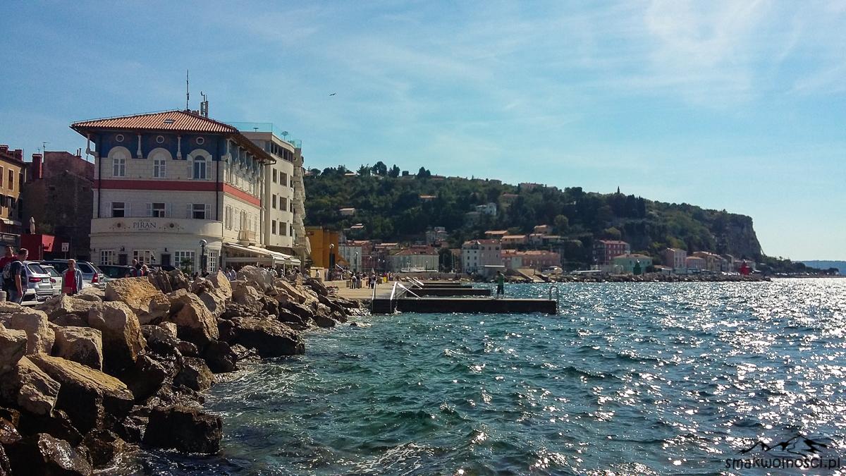 piran, wybrzeże słowenii