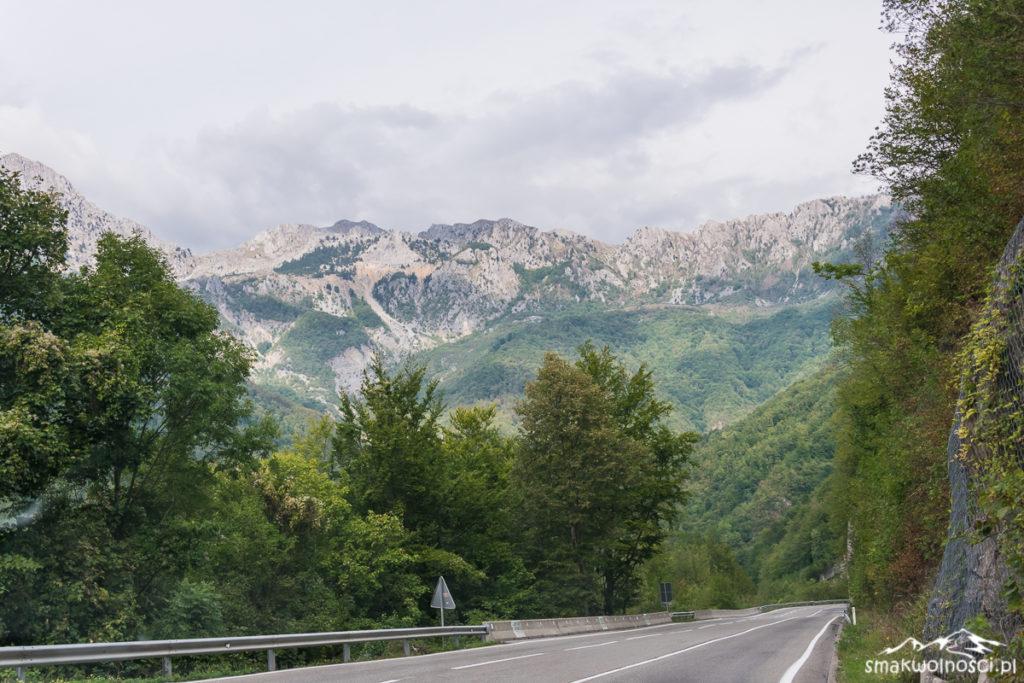 droga w czarnogórze