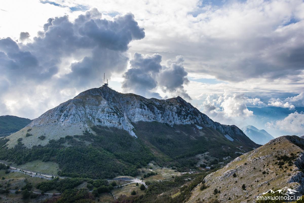 najwyższy szczyt masywu Lovcen