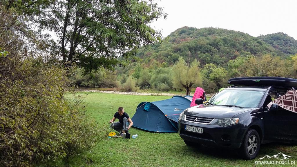 camping w czarnogorze
