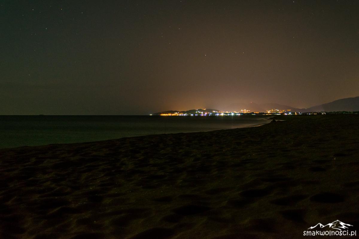 adriatyk nocą