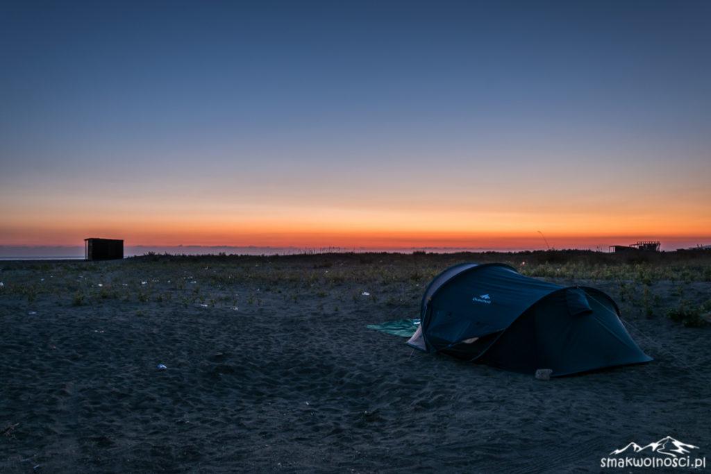adriatyk zachód słońca