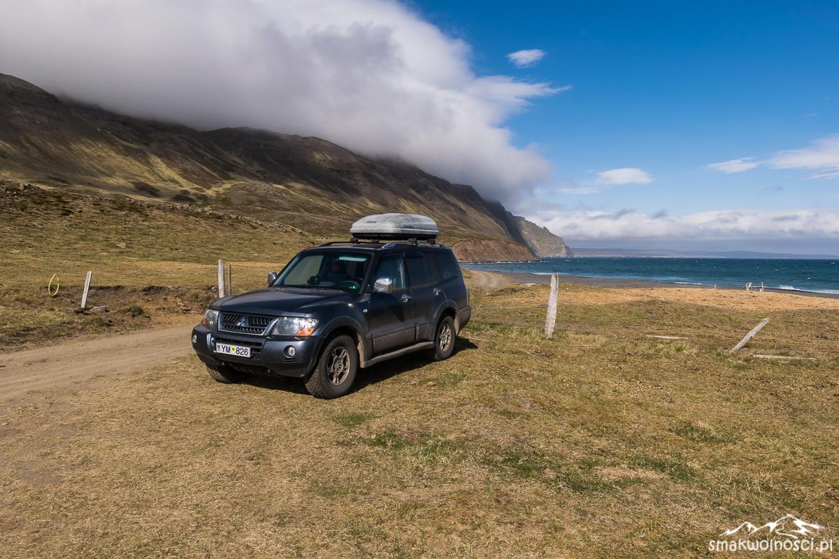 nocleg na wybrzezu islandia